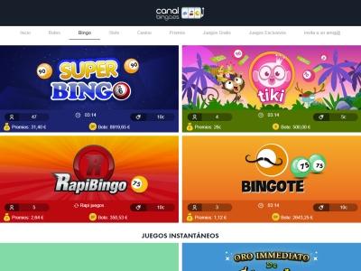 Casino Canal Bingo