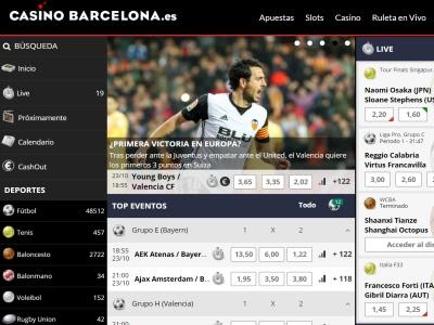 Apuestas Deportivas Casino Barcelona