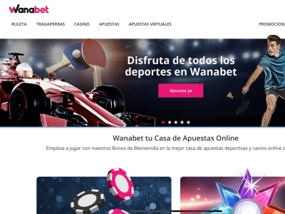 Apuestas Deportivas Wanabet